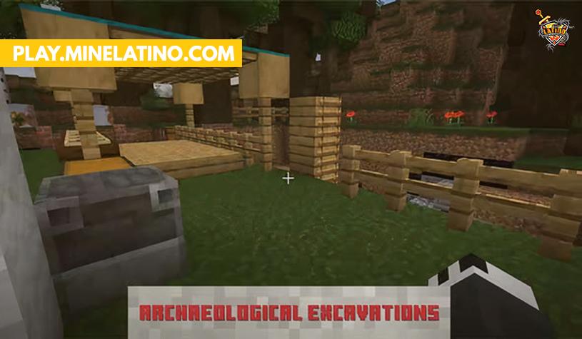 Arqueología en Minecraft 1.17